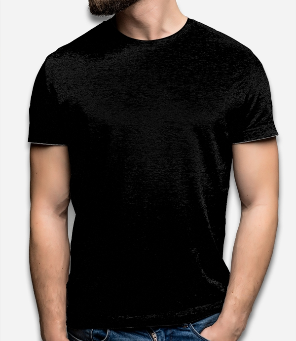 Men's V neck T-shirt thumbnail